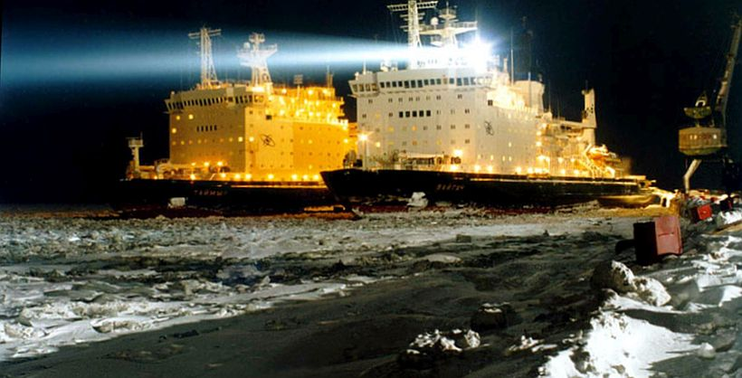 ATOMFLOT ICEBREAKERS STEERED 331 SHIPS ACROSS THE ARCTIC IN