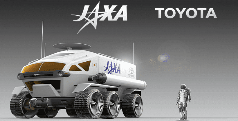 Jaxa To Develop Huge Moon Rover With Toyota
