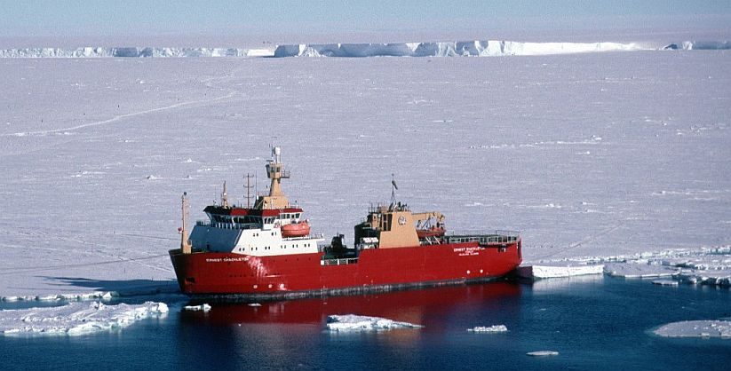 GC RIEBER COMPLETES THE SALE OF ERNEST SHACKLETON ICEBREAKING
